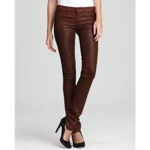 NWT J Brand | Coated Luxe Twill Jeans Clay sz 28
